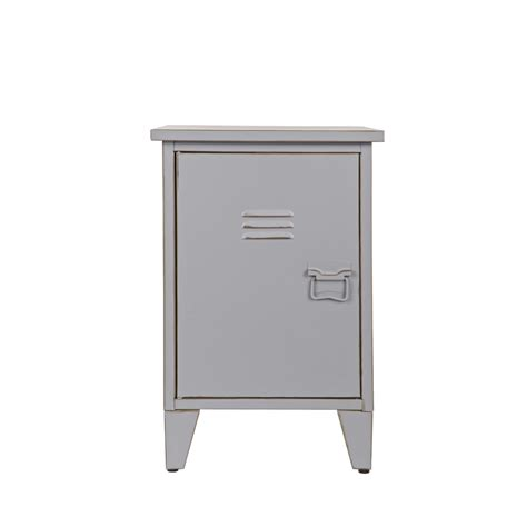 Table De Chevet Metal Table De Chevet M 233 Tal Ouverture Gauche Maxim Par Drawer Fr