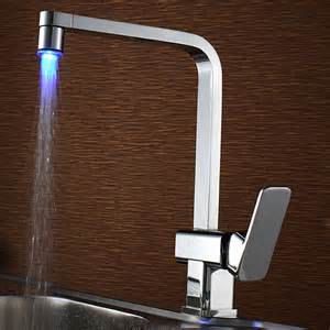 overstock kitchen faucets sumerain led kitchen faucet contemporary kitchen faucets by overstock