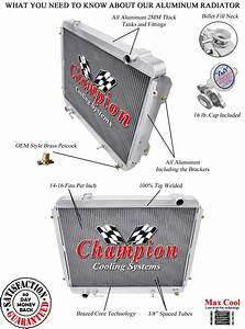 3 Row Rs Champion Radiator For 1995 96 97 98 99 00 01 02