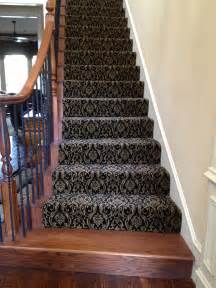 Oriental Carpet Runners For Stairs by How To Carpet Stairs Casual Cottage