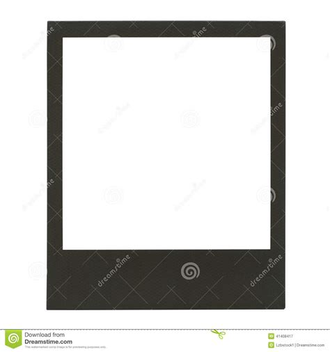 cadre polaro 239 d vide de photo photo stock image