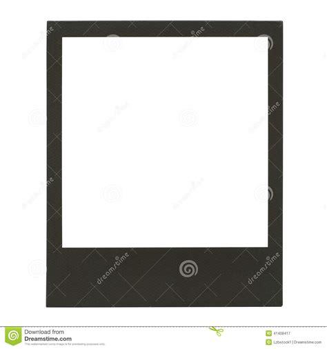 taille de cadre photo cadre polaro 239 d vide de photo photo stock image 41408417