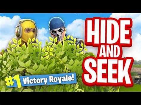 hide seek custom gamemode fortnite battle royale