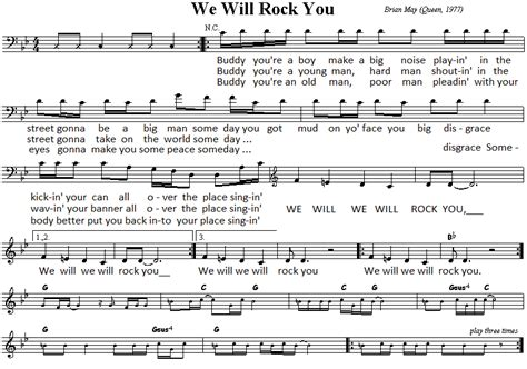 The rockers — we will rock you 02:05. We Will Rock You