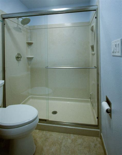 swanstone  base  shower shower pan installation