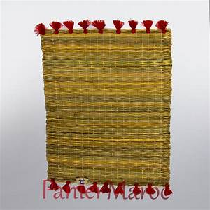 Set De Table Paille : set de table traditionnel marocain marrakech ~ Teatrodelosmanantiales.com Idées de Décoration