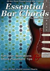 Essential Guitar Bar Chord Lessons  U0026 Charts 35 Bar Chord