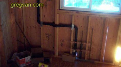 drilling  king stud framing  plumbing waste