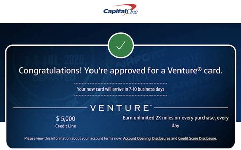 The capital one venture card is one of the best rewards credit cards on the market and is especially attractive for those just starting out in the reports suggest that you'll need a score of at least 700 to get approved for the capital one venture card, though people with lower scores have been approved. Capital One Venture Approval! - myFICO® Forums - 5936905