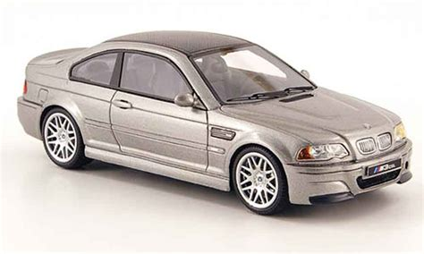 bmw   csl grey  premium  diecast model car