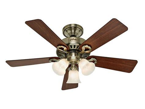 hunter 44 inch ceiling fan hunter ceiling fan 44 quot antique brass