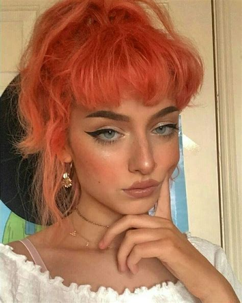 Hairstyles In by Orange Aesthetic Hair Colors Highlights For Or