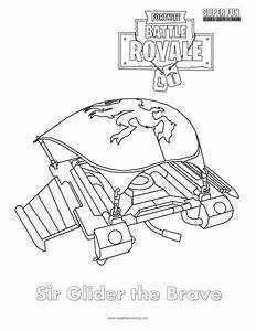 Fortnite Axes Coloring Pages
