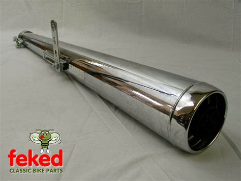 Universal Motorcycle Exhaust Silencer New