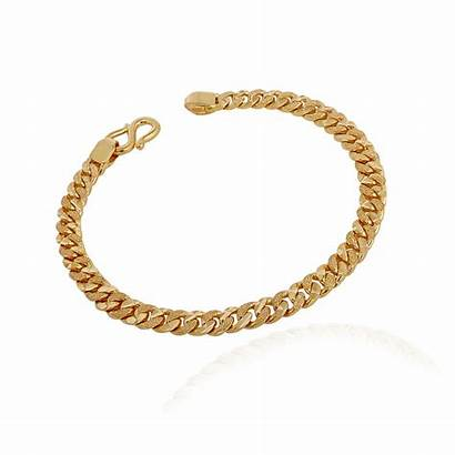 Chain Gold Bracelet Mens Jewellers Grt Try