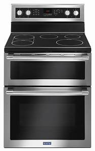 Maytag Met8800fz 6 7 Cu  Ft  30 U0026quot  Double Oven Electric Range With True Convection