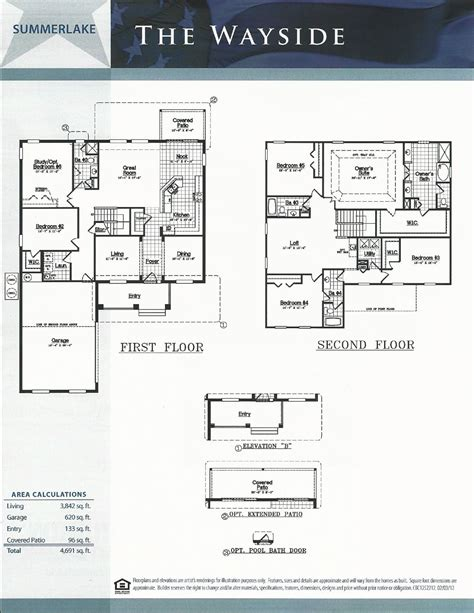 summerlake dr horton homes wayside floor plan  winter garden fl summerlake  winter garden