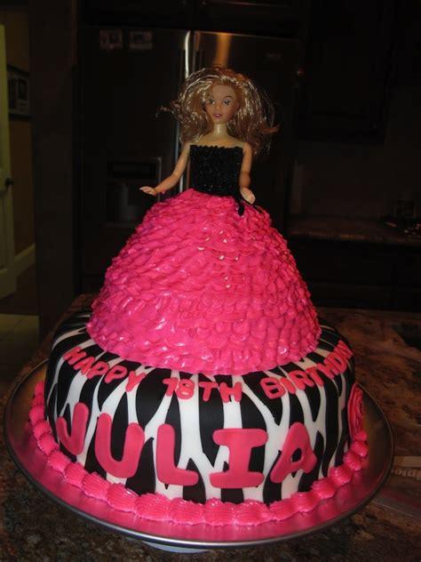 theme barbie doll cake trivandrum cake house tm