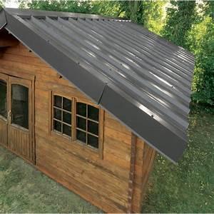 Tole De Bardage Brico Depot : plaque imitation tuile toiture abri de jardin bac acier ~ Melissatoandfro.com Idées de Décoration