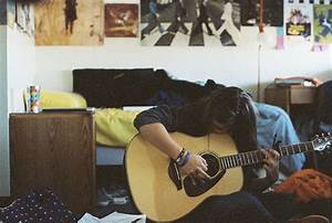 cute, guitar, music, photo - image #353093 on Favim.com