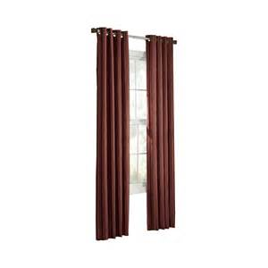 shop allen roth city park 95 in polyester grommet light filtering single curtain panel