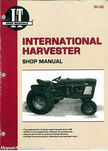 International Harvester Cub 154 184 185 Lo