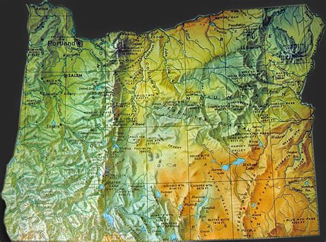 oregon map oregon geography indian tribes map native