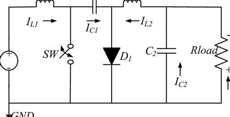 Basic Circuit Diagram Cuk Converter Download