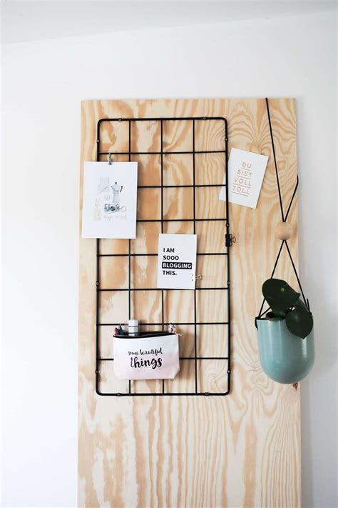 Ikea Arbeitszimmer Ideen by Ikea Hack Diy Wand Organizer Deko Ideen Wand