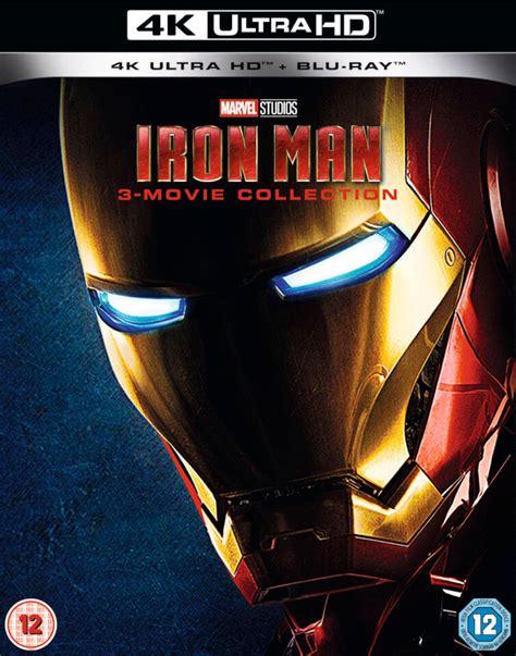 iron man trilogy  ultra hd blu ray zavvi