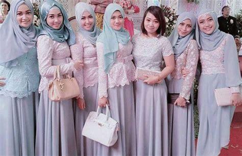 model baju kebaya  acara pernikahan muslim model