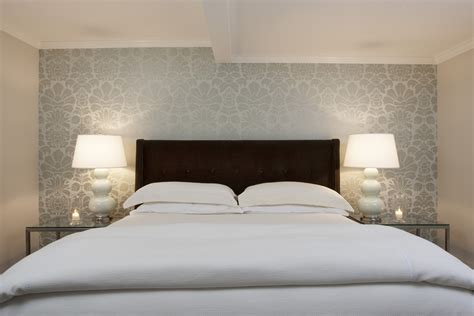 modern wallpaper accent wall contemporary wallpaper designs bedroom contemporary with accent wall bedside table