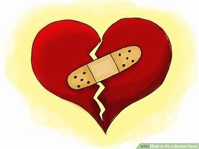 Heart Broken Fixed Clipart Corazon Being Pain