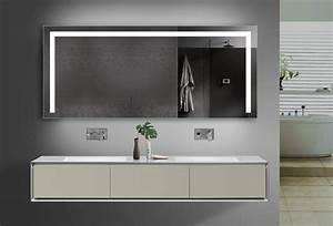 Spiegel Mit Steckdose : design badezimmerspiegel led beleuchtung ~ Michelbontemps.com Haus und Dekorationen