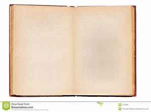 Old Book Blank Stock Image - Image: 1737861