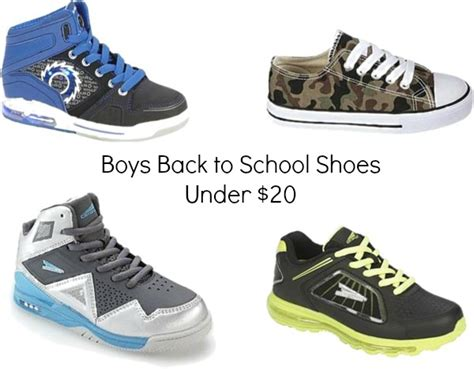 Back To School Shoes For Under $20.00