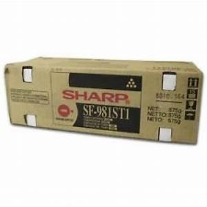 Sharp Sf981st1 Toner Cartridge  Sf 9500  9510  9550  9560