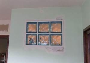 briques de verre posees With comment poser des carreaux de verre
