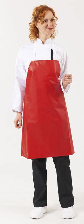 tablier de cuisine plastifié tablier plastifie pvc tb16 tablier vêtements de