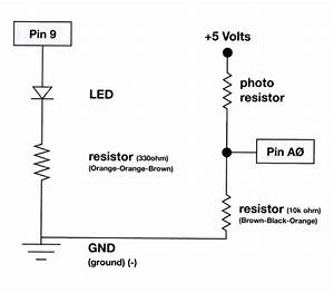 Detecting The Absence Of Light To Gradually Switch On Led