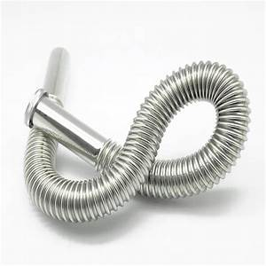 Stainless Steel Flexible Sink Drain Hose Siphon Basin