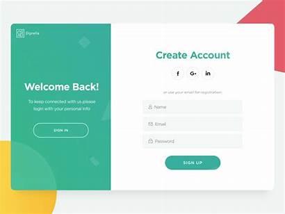 Login Ui Form Ux Website Registration App