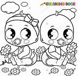 Coloring Pages Newborn Babies Template Colouring Stroller Bitty Pacifier Getcolorings Printable Colorings sketch template