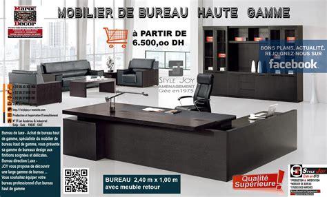 meubles de bureau 钁e n 1 en mobilier bureau rabat casablanca deco inovation meuble rabat