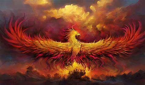 pasarea phoenix  simbol al vesnicei reinnoiri