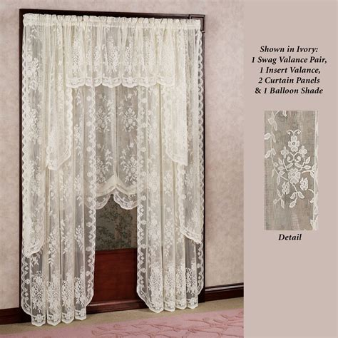 jcpenney lace kitchen curtains curtains beautiful jcpenney curtains valances for