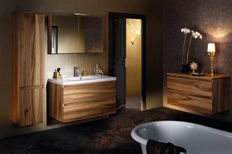 salle de bain sanijura tendance bois pour la salle de bain habitatpresto