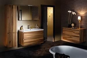 Salle De Bain En Bois : tendance bois pour la salle de bain habitatpresto ~ Teatrodelosmanantiales.com Idées de Décoration