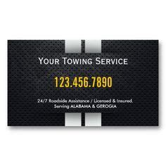 tow truck business cards images business cards