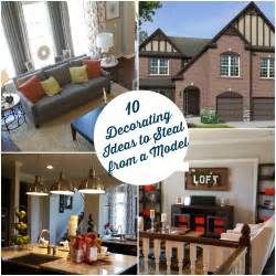Home Design Ideas 10 Decorating Ideas Spotted In A Model Home Hooked On Houses